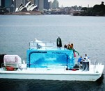 Iceberg in Sydney Harbour (Photo: Wilkinson PR)