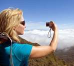 Choosing the right camera gear for hiking can be the difference between great pics or lost memories. (Credit: Getty Images)