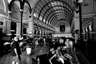 A vietnam train station, shot on a Sony NEX-7. (Credit: John Wallace)