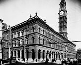 A historic shot of Sydney's GPO. (Credit: National Archives of Australia)