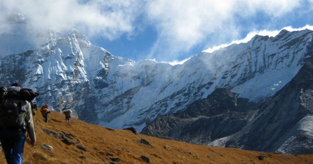 Chamlang Mountain, Nepal. (Photo: courtesy of Jacqueline Salway)