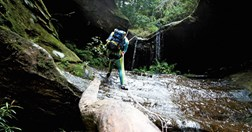 Canyoning (Photo: James Castrission)