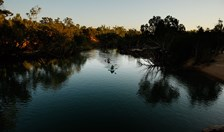 The 328km-long Katherine River runs south-west from Nitmiluk National Park, Northern Territory. (Credit: Brendan Thorne)