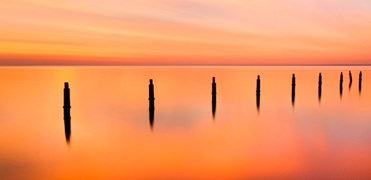 Jetty at Shorncliffe, Queensland by David Anderson