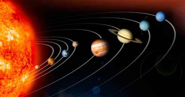 our solar system planets in order with no pluto - photo #1