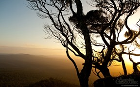 Images of Australia: Sunset from Genoa Peak, Victoria