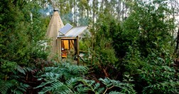 Huon Bush Retreats, TAS (Photo: Matthew Newton)