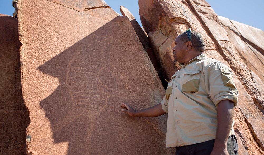 Aboriginal rock art Australia