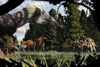 A Montana forest of the Late Cretaceous period by Julius Csotonyi.