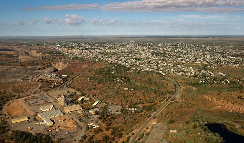 Broken Hill Australia  city photos : Broken Hill aerial Australian Geographic