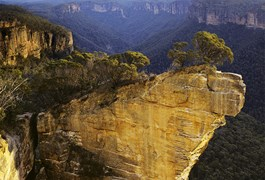 Katoomba promises some of the most idyllic views.