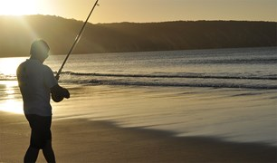Rainbow Beach allows for some promising fishing beaches