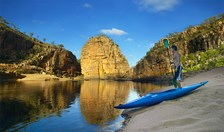 Nitmiluk National Park can be enjoyed walking, paddling or climbing.