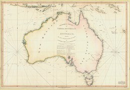 Flinders' General Chart was also a political statement. After it was published, New Holland became Britain's 'Australia'.