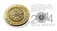 Australian Geographic Society, gala awards 2014