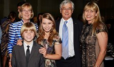 Dick Smith, Bindi Irwin, Terri Irwin, AG Society Awards 2014