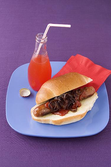 Iconic Australian foods sausage sandwich