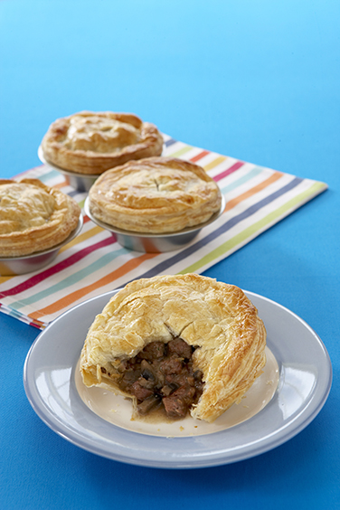 Iconic Australian foods meat pie