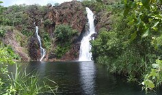 Wangi Falls, at Litchfield National Park, NT.