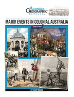 Major Events In Colonial Australia