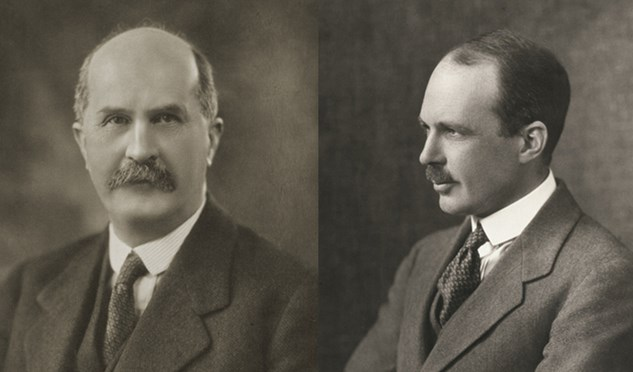 Sir William Henry Bragg and Professor William Lawrence Bragg won Nobel Prizes in physics