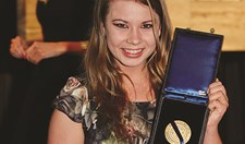 Bindi Irwin won the 2014 AG Society Award for Young Conservationist of the Year.