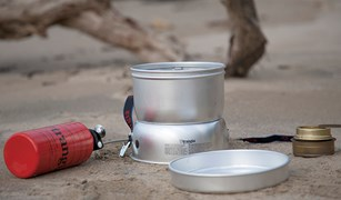 Trangia Ultralight 27/1 storm-cooker (alcohol + gas + multi-fuel units)