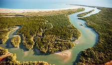 The remote Kimberley coastline is best seen via cruise ship.
