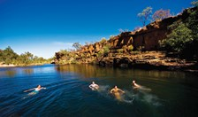 Wunnumurra Gorge is one of the Kimberley's best-kept secrets.
