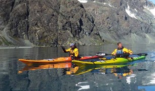 A group of friends circumnavigate South Georgia Island in kayaks in the name of adventure.