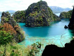 Beautiful Coron Island in the northern part of the Philippines' Palawan province is managed by the Tagbanua tribe.