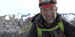 AG Society sponsored adventurer Tim Jarvis AM at the summit of Carstensz Pyramid, West Papua.