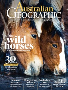 Australian Geographic issue 130 all the wild horses