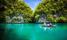 Palau sea kayaking Australian Geographic Outdoor