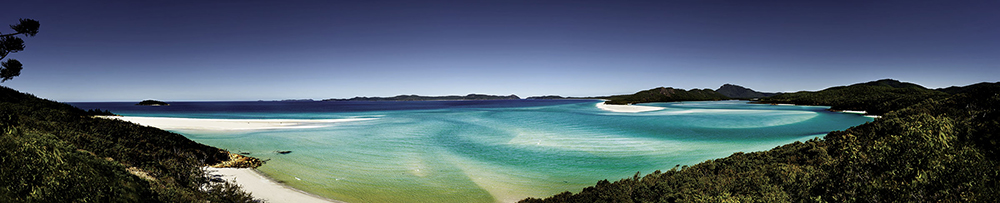 Whitsunday Island panorama cells