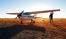Colin Gordon with Cessna 182Q