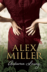 Autumn Laing book cover Allen & Unwin Alex Miller