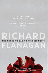 Narrow Road to the Deep North book cover Vintage publishing Richard Flanagan