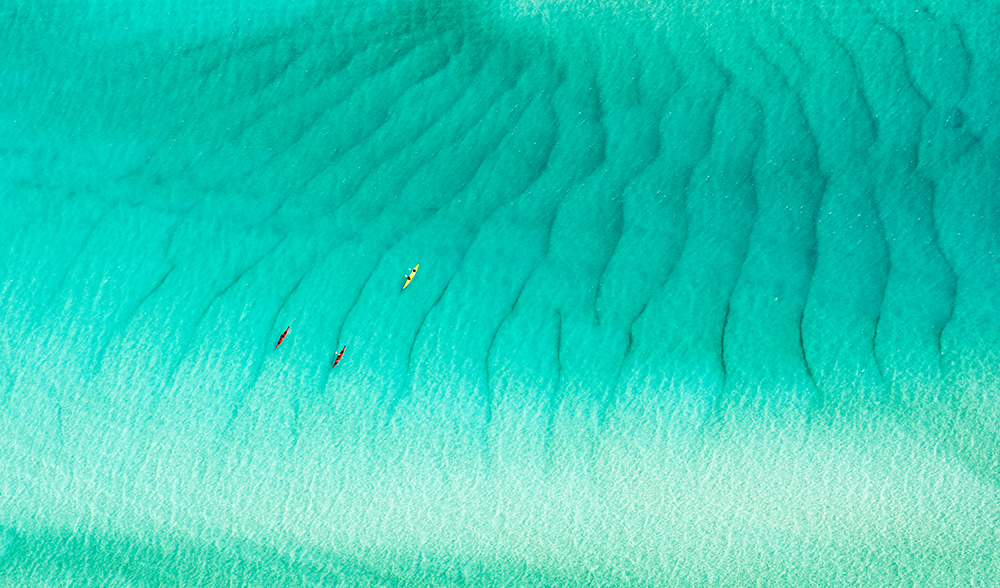 Whitsundays Queensland paddle adventure