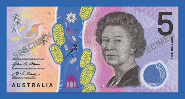 New Australian $5 note