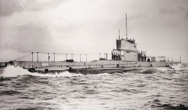 The fate of our first submarine
