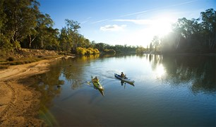 murray river paddle