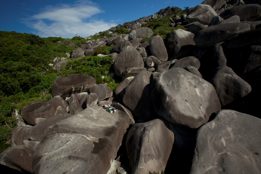 cape melville boulders