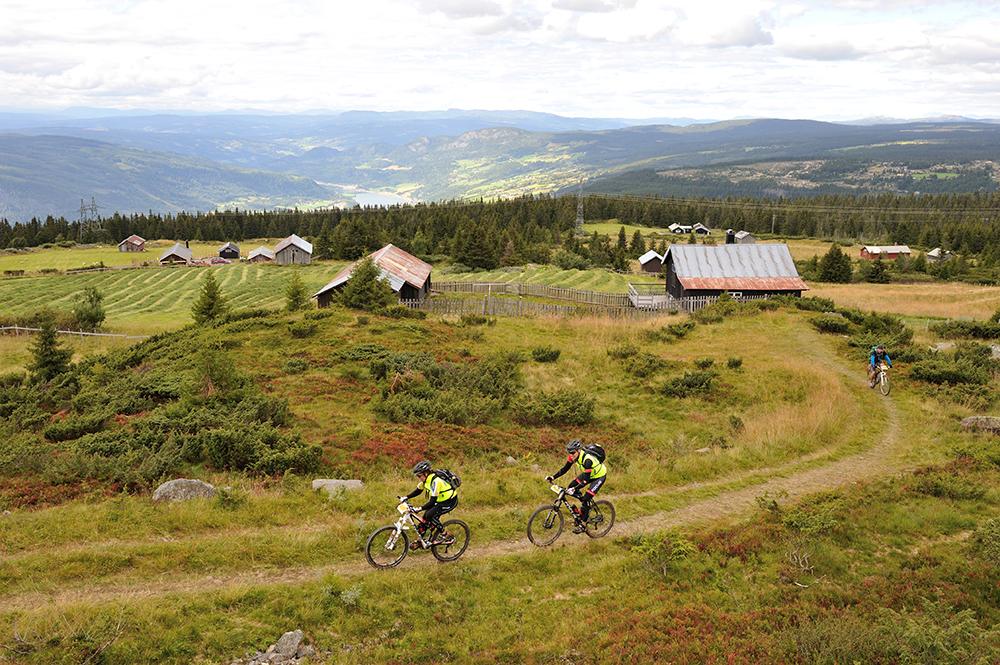 Mountain biking norway