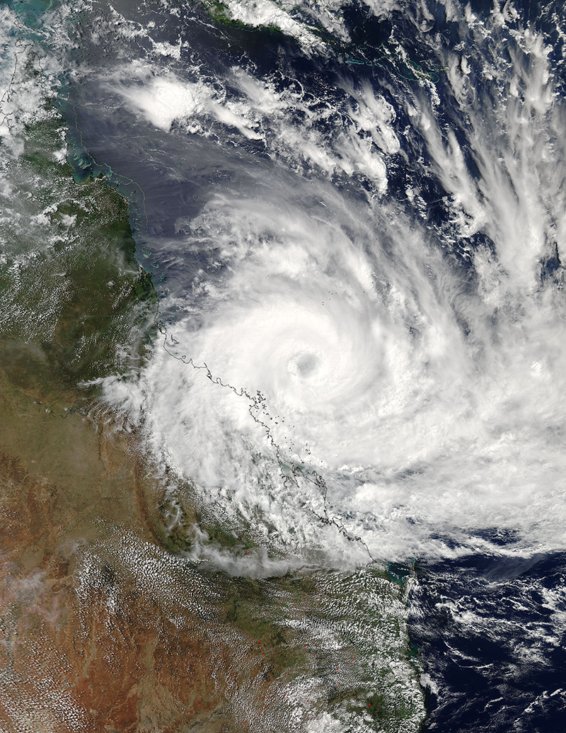 tropical cyclone debbie