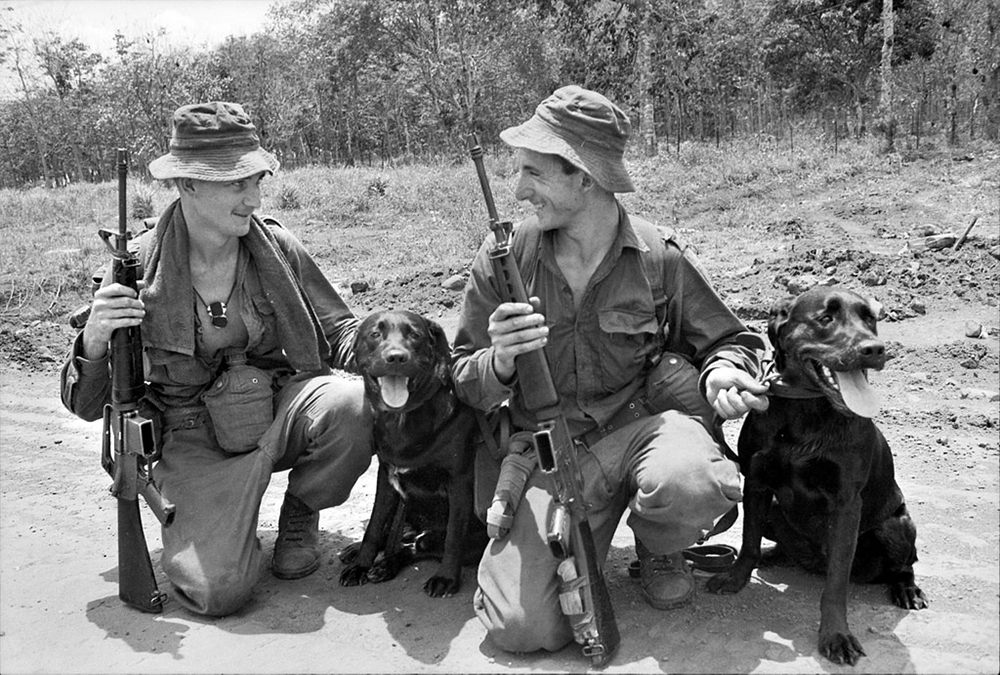 tracker dogs vietnam
