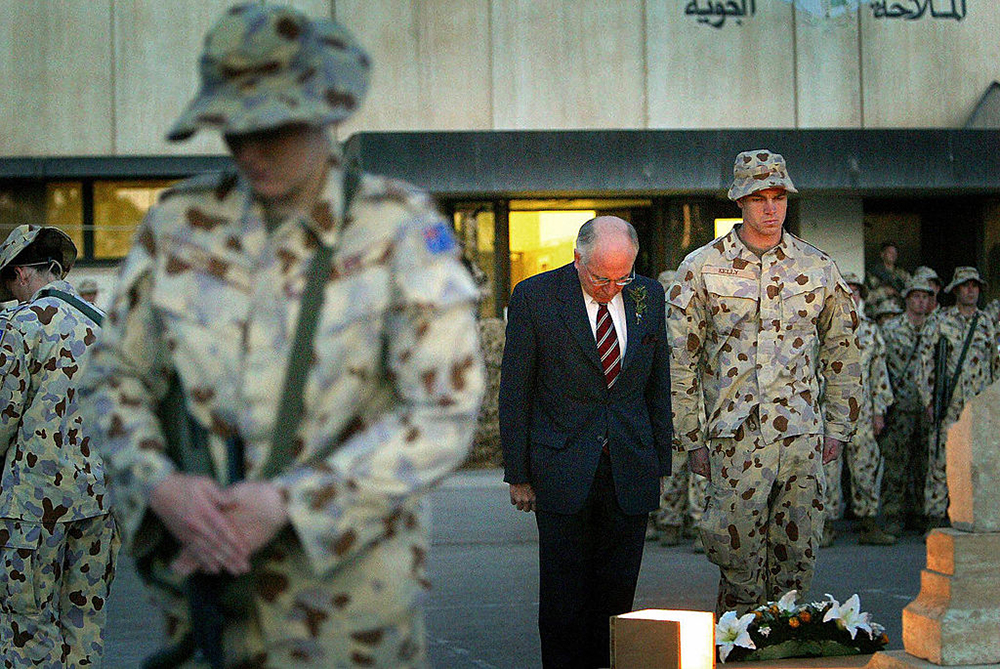Anzac Day John Howard 2004