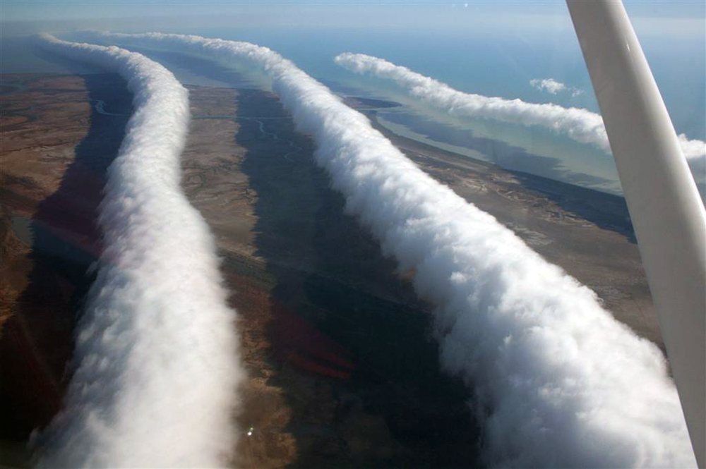 morning glory clouds australia