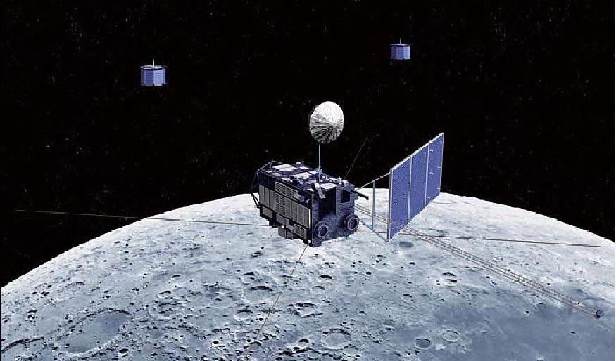 selene detects moon cave