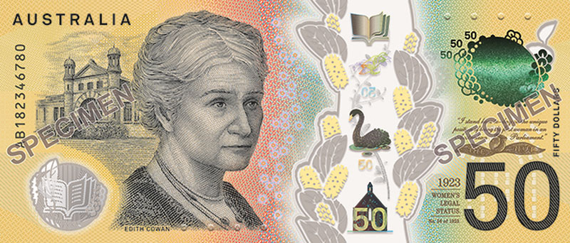 new fifty dollar note